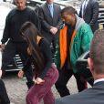 Kim Kardashian et Kanye West à New York, le 3 octobre 2016.
