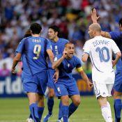 Zinédine Zidane : Son célèbre coup de boule immortalisé, Materazzi jubile