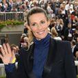 Sophie Thalmann - 94e Qatar Prix de l'Arc de Triomphe à l'Hippodrome de Longchamp à Paris, le 4 octobre 2015.
