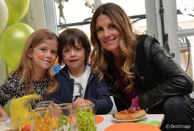 Exclusif sophie thalmann et ses enfants charlie et mika - Sophie thalmann charlie soumillon ...
