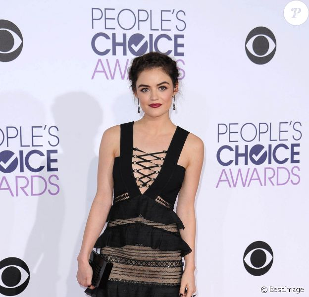 Lucy Hale aux People Choice Awards 2016 à Los Angeles le 6 janvier 2016