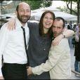 Kad Merad, Valérie Benguigui et Bruno Solo - Avant-première du film Pur week-end à Paris en 2007