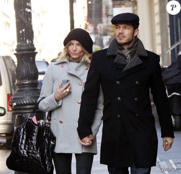 Cameron Diaz en ballade romantique avec son boyfriend Paul Sculfor