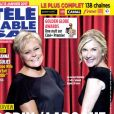 Télé Câble Sat avec Muriel Robin et Michèle Laroque, le 2 janvier 2017