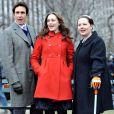 """""""John Shea et Leighton Meester sur le tournage de Gossip Girl à New York, le 4 janvier 2009"""""""