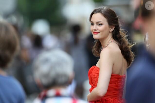 Blake Lively sur le tournage de Gossip Girl à Paris, le 8 juillet 2010