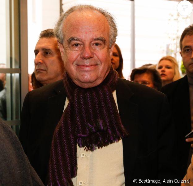 Frédéric Mitterrand - Inauguration du centre culturel et spirituel orthodoxe russe à Paris le 19 octobre 2016. © Alain Guizard / Bestimage
