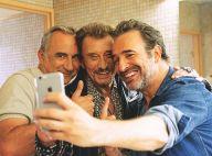 Johnny Hallyday : Complice avec Jean Dujardin pour un tendre selfie
