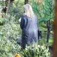 Cérémonie en hommage à Carrie Fisher dans sa propriété à Beverly Hills le 5 janvier 2017 - Los Angeles