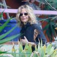 Meg Ryan - Cérémonie en hommage à Carrie Fisher dans sa propriété à Beverly Hills le 5 janvier 2017 - Los Angeles