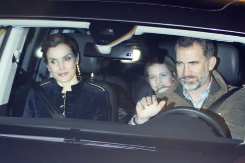 Letizia et Felipe VI d'Espagne : Goûter et cadeaux pour Leonor et Sofia