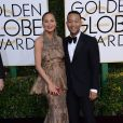 Christine Teigen et son mari John Legend - La 74ème cérémonie annuelle des Golden Globe Awards à Beverly Hills, le 8 janvier 2017.