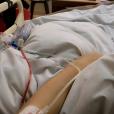 """Shanna des """"Marseillais"""" s'est fait opérer de la poitrine pour un contrôle de routine. Janvier 2017."""