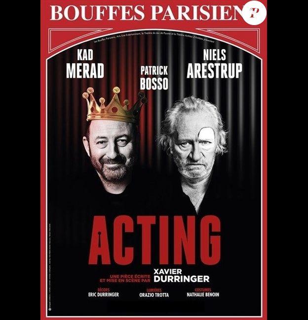 Le spectacle Acting, aux Bouffes parisiens
