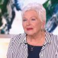 """Line Renaud dans l'émission """"Thé ou Café"""" sur France 2 le 14 janvier 2017"""