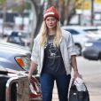 Exclusif - Hilary Duff se promène à Studio City le 13 janvier 2017