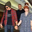 Carly Rae Jepsen et Matthew Koma à l'aeroport de Narita à Chiba au Japon le 20 juin 2013.