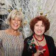 Exclusif - Andréa Ferréol et son amie Viviane - 70ème anniversaire de la comédienne Andréa Ferréol au Studio Harcourt à Paris le 8 janvier 2017. © Denis Guignebourg/Bestimage