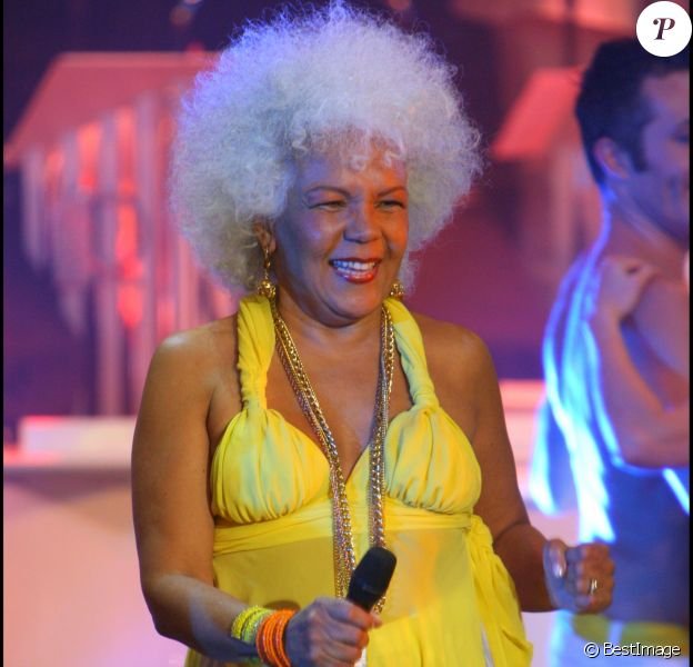 Loalwa Braz du groupe Kaoma - Les années bonheur, le 31 octobre 2007 à Paris
