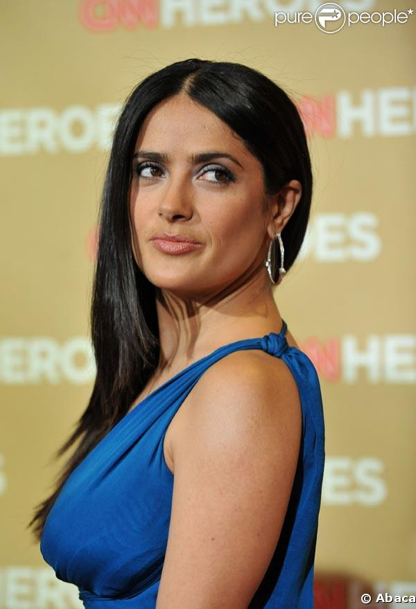Salma hayek jennifer lopez drew barrymore et jake gyllenhaal r unis pour - Jennifer lopez grosse ...