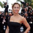 """Anne-Sophie Lapix - Montée des marches du film """"Ma Loute"""" lors du 69ème Festival International du Film de Cannes. Le 13 mai 2016. © Borde-Jacovides-Moreau/Bestimage"""