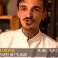 """""""Top Chef 2017"""" sur M6. Le 25 janvier 2017."""