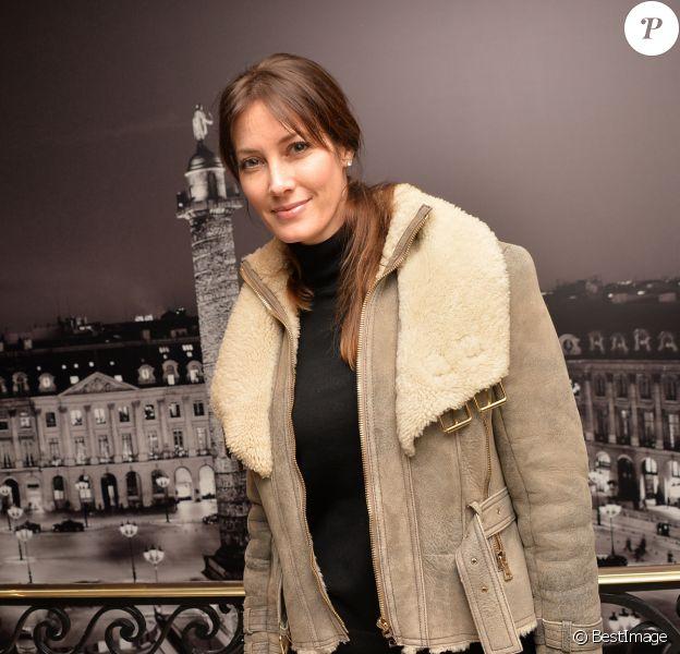 Mareva Galanter -Défilé Alexis Mabille Haute Couture printemps-été 2017 à l'Hôtel d'Evreux. Le 24 janvier 2017. © CVS - Veeren / Bestimage