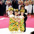 La princesse Stéphanie de Monaco et le Trio Izhevsk (Coupe Princesse Antoinette) - Soirée de gala du 41ème festival du cirque de Monte-Carlo à Monaco, le 24 Janvier 2017. © Manuel Vitali/Centre de Presse Monaco/Bestimage