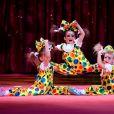 Trio Izhevsk - Soirée de gala du 41ème festival du cirque de Monte-Carlo à Monaco, le 24 Janvier 2017. © Manuel Vitali/Centre de Presse Monaco/Bestimage  41th Monte-Carlo circus gala evening in Monaco on january 24th, 2017.24/01/2017 - Monte-Carlo