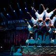 La troupe XianJiang (Clown d'argent) - Soirée de gala du 41ème festival du cirque de Monte-Carlo à Monaco, le 24 Janvier 2017. © Manuel Vitali/Centre de Presse Monaco/Bestimage  41th Monte-Carlo circus gala evening in Monaco on january 24th, 2017.24/01/2017 - Monte-Carlo