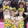 La princesse Stéphanie de Monaco et le Trio Izhevsk - Soirée de gala du 41ème festival du cirque de Monte-Carlo à Monaco, le 24 Janvier 2017. © Claudia Albuquerque/Bestimage