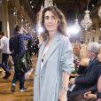 """Agnès Boulard (Mademoiselle Agnès)au défilé de mode prêt-à-porter printemps-été 2017 """"Lanvin"""" à Paris. Le 28 septembre 2016 © Olivier Borde / Bestimage"""