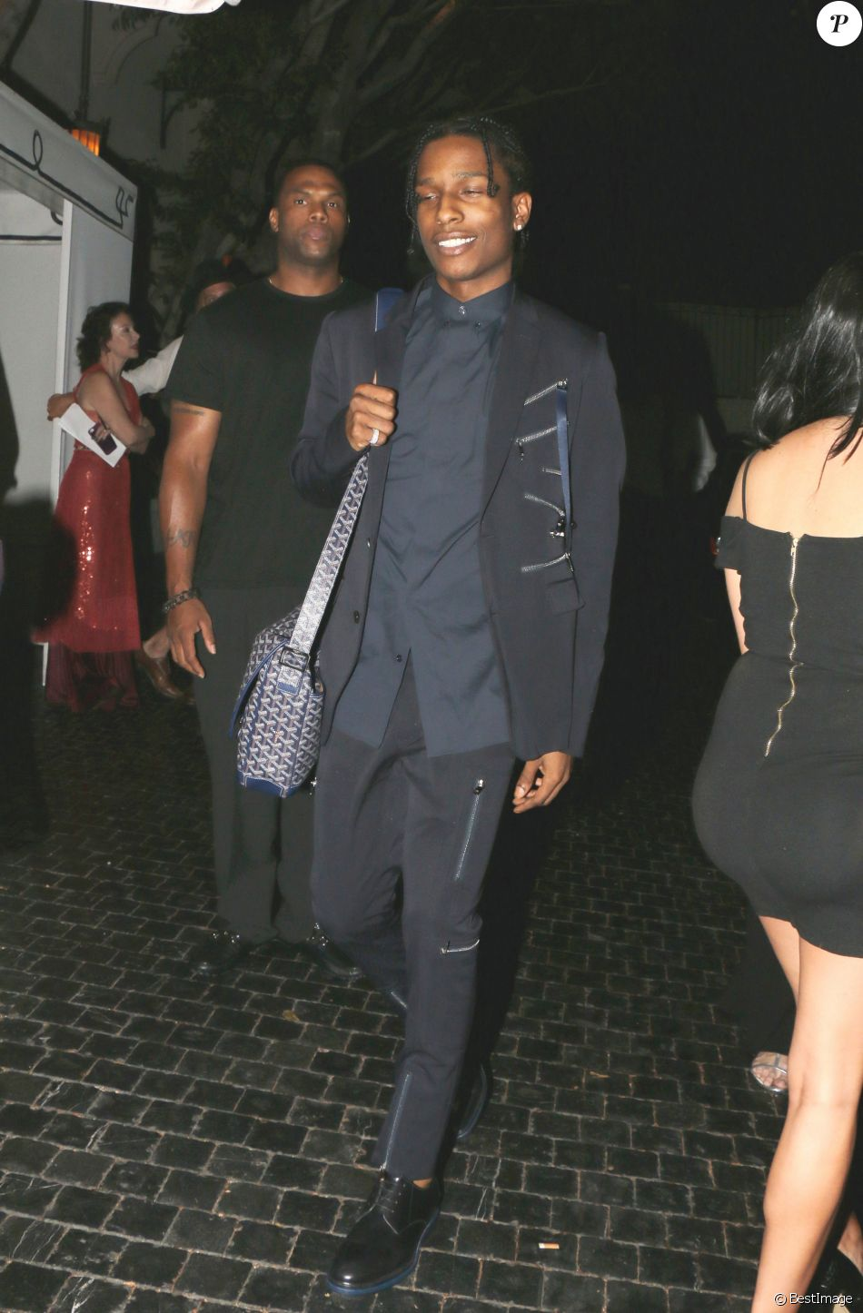 9f51d43e73cb2 ASAP Rocky au cocktail Dior Homme au Chateau Marmont à West Hollywood. Le  24 septembre 2015 © CPA   Bestimage