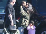 Kim Kardashian : Vacances en famille mais sans Kanye pour la maman superstar