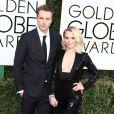 Dax Shepard et sa femme Kristen Bell à la 74ème cérémonie annuelle des Golden Globe Awards à Beverly Hills. Le 8 janvier 2017