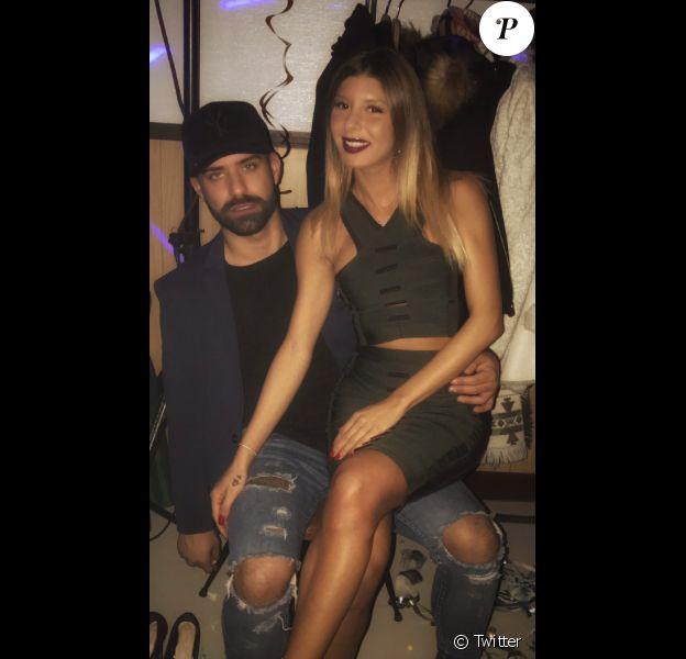 Sarah Lopez et Vincent Queijo amoureux en 2017.