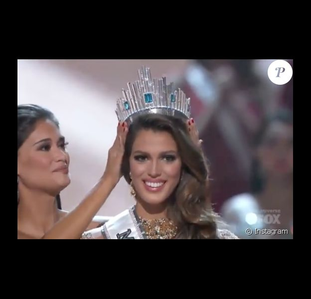 Iris Mittenaere, Miss France 2016, a été sacrée Miss Univers 2016 à Manille le 30 janvier 2017. Photo Instagram.