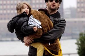 PHOTOS : Hugh Jackman et son épouse... raides dingues de leurs mômes !