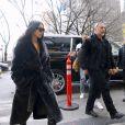 Kim Kardashian a déjeuné au restaurant Cipriani avec ses enfants North, Saint West et ses amis Jonathan Cheban et Simon Huck, puis fait du shopping au magasin de vêtements pour enfants Sweet William et au centre commercial Bergdorf Goodman. New York, le 1 er février 2017.