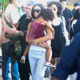 Kim Kardashian et sa fille North West quittent le Costa Rica après des vacances fabuleuses dans le complexe Villa Manzu situé sur la célèbre péninsule de Papagayo. La villa de luxe à couper le souffle comprend 27.000 mètres carrés, 180 degrés vue panoramique sur la mer et huit chambres luxueusement aménagées. Le 30 janvier 2017.