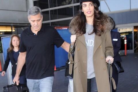 Amal Clooney : La femme de George enceinte ? La rumeur se précise...