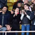 Louis Ducruet lors du match de football de Ligue 1 opposant Monaco à Nice au Stade Louis II à Monaco le 4 février 2017. Monaco a battu Nice 3 à 0 et devient leader de la Ligue 1. © Bruno Bebert / Bestimage