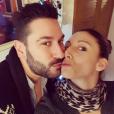 Silvia Notargiacomo et Denny Imbroisi le 25 décembre 2016