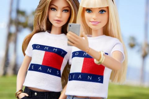 Gigi Hadid transformée en Barbie : Une poupée plus vraie que nature !