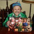 Munchkin Jerry Maren (un des nains du Magicien d'Oz) à Burbank, le 26 novembre 2010.