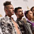 Le groupe DNCE- Soirée pré-Grammy Awards de la fondation Clive Davis (à l'honneur de Debra Lee, président du conseil et PDG de BET) au Beverly Hilton. Beverly Hills, Los Angeles, le 11 février 2017.