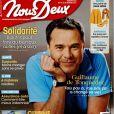 """Couverture du magazine """"Nous Deux"""", numéro 3633, du 14 au 20 février."""