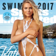 Kate Upton en couverture du magazine Sports Illustrated Swimsuit daté du mois de mars 2017.
