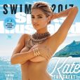 Kate Upton torride en couverture du magazine Sports Illustrated Swimsuit daté du mois de mars 2017.