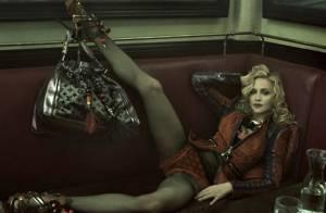 Madonna devient une Parisienne so chic et sensuelle...